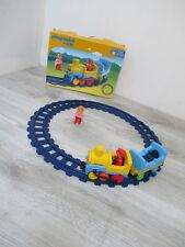 🌟 Jeu De Construction Train Avec Rails Playmobil 123 Réf: 6760 Complet