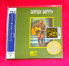 Sandy Denny Where The Time Goes SHM MINI LP CD JAPAN UICY-94083