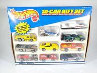 HOT WHEELS 10-CAR GIFT SET Diecast Cars MIB COMPLETE 1999 Sealed Box