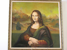 Beautiful Rendering of The Mona Lisa by late Master Roland Dorcely (1930-2017)