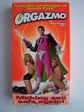 Orgazmo VHS Video Tape NC-17 Screening Copy RARE