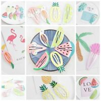 Cute Girls Baby Kids Fruit Hair Clips Snaps Hairpin Hair Bow Accessories 6 Pcs