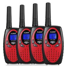 4x Floureon Uhf462-467Mhz 5Km Handheld 22 Channel Two-way Radio Walkie Talkie Us
