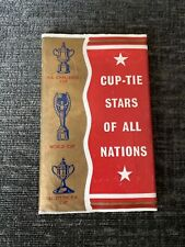 More details for dc thomson - victor comics - cup-tie stars of all nations 1962 11 cards + wallet