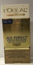 L'Oreal Age Perfect Pro-Calcium Eye and Lip Cream for Very Mature Skin, 0.5 oz