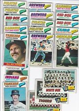 DH: 1977 Topps Baseball Card Star Lot - 20 Diff - VG-Ex+ Yount, Munson, Stargell