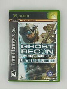 Tom Clancy's Ghost Recon: Advanced Warfighter (ORIGINAL Xbox) GAME DISC & CASE