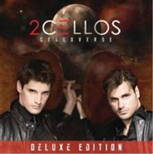 2CELLOS: Celloverse CD with DVD NEU