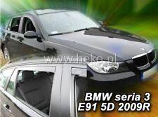 4 Deflettori Aria Antiturbo BMW seria 3 E91 2005-2012 5 porte