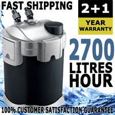 Aqua One Nautilus External Aquarium Fish Tank Canister Filter 2700L/H Non UV