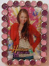 Disney Pin 71144 WDW Hannah Montana Booster Miley Photo Purple Glittery Circles