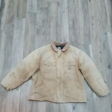 Vintage Carhartt Chore Sandstone Workers Artic Jacket Size 2XL