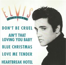 Elvis Presley - The King Of Rock N Roll promotional sampler CD