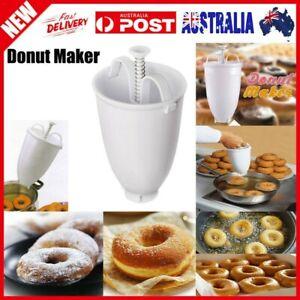 Plastic Doughnut Maker Machine Mold DIY Tool Kitchen Pastry Making Bake Ware AUS