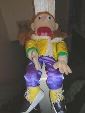 girl Puppet Large Human Puppet Ventriloquist Doll  vgc