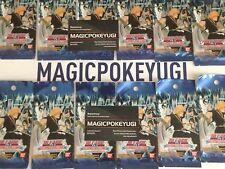 @@Magicpokeyugi brade lot 12 Boosters Bleach Shinigami and Ichigo VF@@