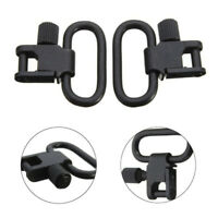 2 pcs 1 Inch Shotgun Quick Detachable Rifle Gun Sling Swivel Tactical Shooting