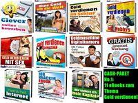 CASH-PAKET No. 1 - 11 eBooks zum Thema GELD VERDIENEN Sammlung  PACK PDF eBücher