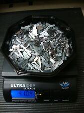 4 lbs 10 oz Linotype metal, Hard Lead Spacer Scrap, Printer Type