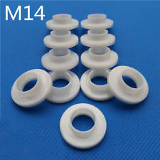 20Pcs M14 Insulation column washer T-type Step Nylon Casing Plastic Screw Gasket