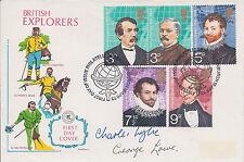 EVEREST George LOWE & Charles WYLIE SIGNED FDC AFTAL Autograph COA Brit Explorer