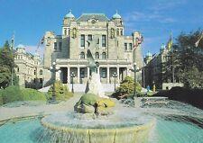 THE FOUNTAIN AT PROVINCIAL LEGISLATIVE BUILDINGS, VICTORIA, BC, CANADA Postcard!