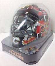 Calgary Flames Franklin Sports NHL Mini Goalie Mask Helmet - NEW in BOX