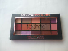 Technic Peanut Butter & Jelly Palette Pressed Pigment Eyeshadow Palette New