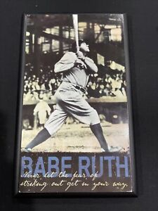 Babe Ruth Motivational Wooden Plaque