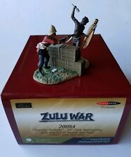 "W. Britain 20084 Zulu ""warrior Twilight"" 54mm Modelzone"