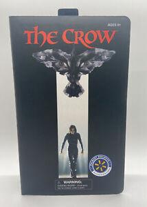 THE CROW ERIC DRAVEN FIGURE DELUXE VHS DIAMOND SELECT WALMART EXCLUSIVE