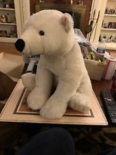 "Fiesta 16"" Polar Bear Plush White Stuffed Animal"