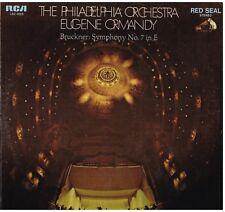 Bruckner: Sinfonia No 7 / Eugene Ormandy, Philadelphia Orchestra- LP Rca