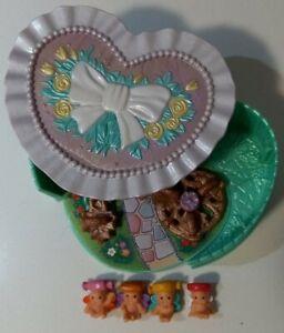 Vintage Kenner Fairy Winkles Secret Playland Treat Box COMPLETE Playground Set