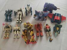 Gundam Bandai Transformers GoBot Mixed Lot Vintage Action Figure