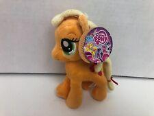 """My Little Pony APPLEJACK 6"""" Plush by Aurora NEW w/tags"""