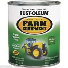 2 Qt John Deere Green RustOleum Farm Equipment Enamel Gloss Paint 7435-502