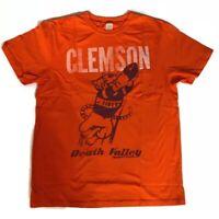 Chubbies Collegiate Men's T-Shirt Clemson Tigers Death Valley Size: S M L XL
