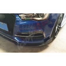 Fit For Audi A3 S3 2013-16 Carbon Fiber Front Bumper Side Vent Grille Trim Cover