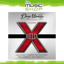 New Set Dean Markley 2614 Helix SS 4 String Bass Guitar Strings - Med Lgt 45-105