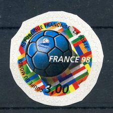 STAMP / TIMBRE FRANCE NEUF N° 3140 ** COUPE DU MONDE FOOTBALL 1998 / DE CARNET