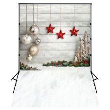 5X7FT Foto Hintergrund Fotografie Hintergrund Requisiten, Weihnachten Baelle G1