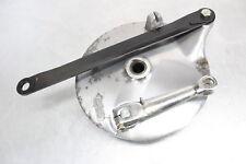 1987 Suzuki Intruder 700 VS700GLEF GLE REAR BACK BRAKE PANEL, SHOES