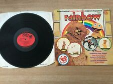 Songs From The Thames Television Children's Programme Rainbow LP Rec MFP 50087