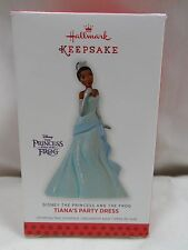 2013 Hallmark Keepsake Tiana's Party Dress Disney The Princess And The Frog