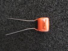 0.22uF, .22uF, 220000pF, ±10%, 100V, 225PX Sprague Orange Drop Capacitors (2pcs)
