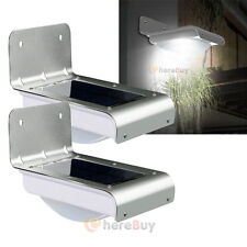 2x 16LED Solar Power Motion Sensor Garden Security Lamp Outdoor Waterproof Light