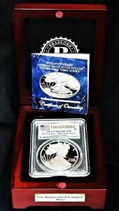 2016-W Proof Silver American Eagle PCGS PR-69 DCAM In Deluxe Box; Great Gift!