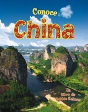 Conoce China Conoce Mi Pais Paperback Spanish Edition