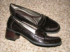 New listing Wmns Sz 11 Brown Faux Reptile Naturalizer N5 Comfort Shoes
